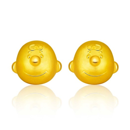 999 Pure Gold Charlie Brown Earrings (S$339)