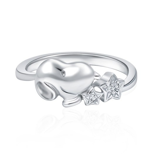 Snoopy Star Gazer Diamond Ring (S$399)