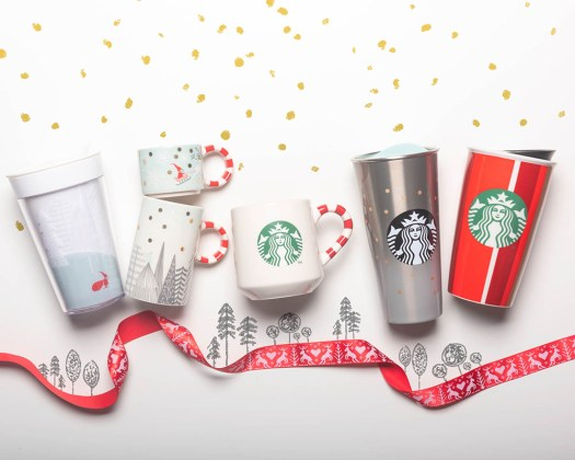 Starbucks Christmas Cups.The Starbucks Iconic Red Christmas Cups Have Arrived For