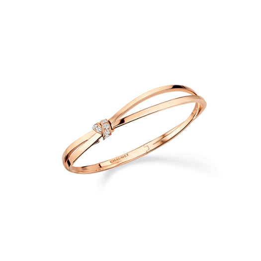 Chaumet Liens Séduction Bracelet in Pink Gold Set with Brilliant-cut Diamonds ($12300)