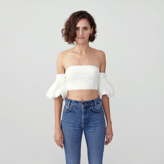 Fame And Partners Puff Sleeve Top, $203