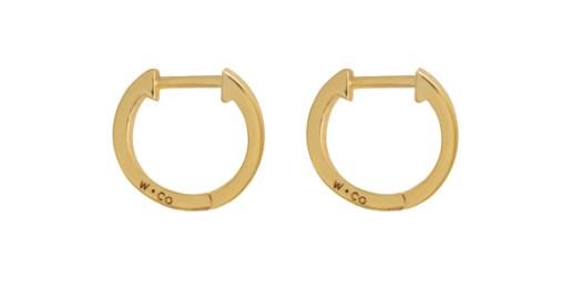 Huggies Earrings ($50)