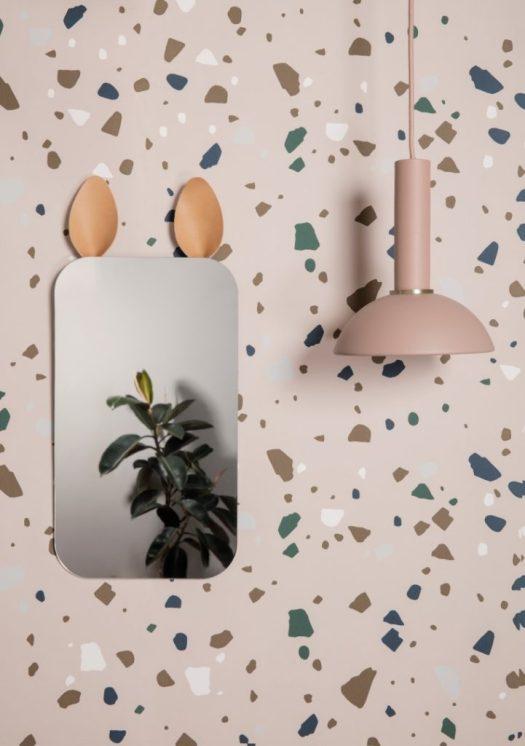 Ferm Living (Rabbit Mirror)