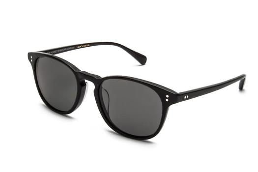 Rocket Eyewear Jet Black With Grey Polarized Lenses, $175