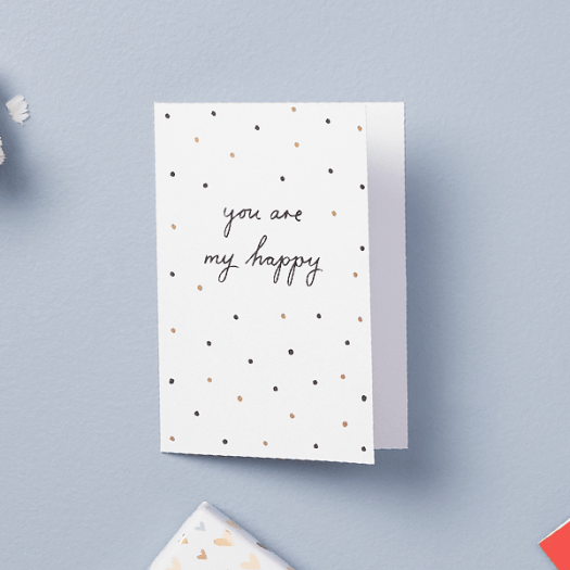 A6 Greeting Card My Happy With Love ($6.90)