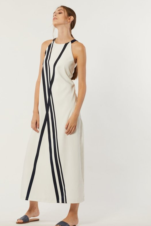 Yacht 21 Kahna Contrast Maxi Dress, $79.90