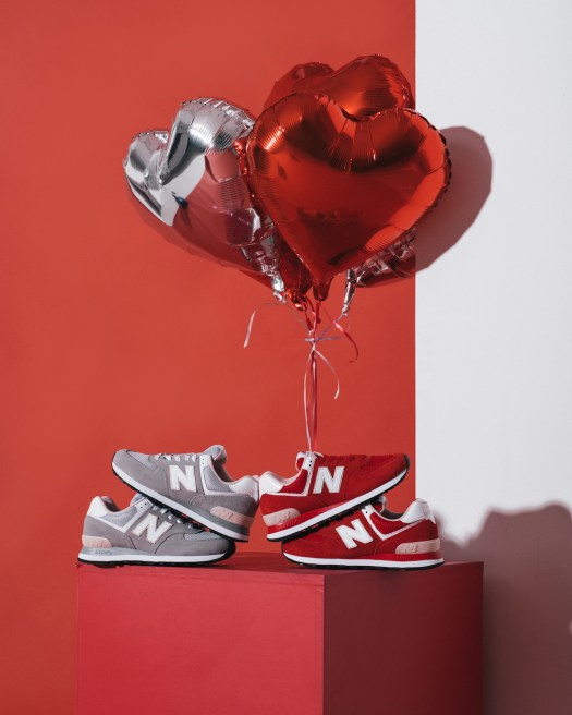 New Balance's 574 Valentine's Day Collection ($139/pair)