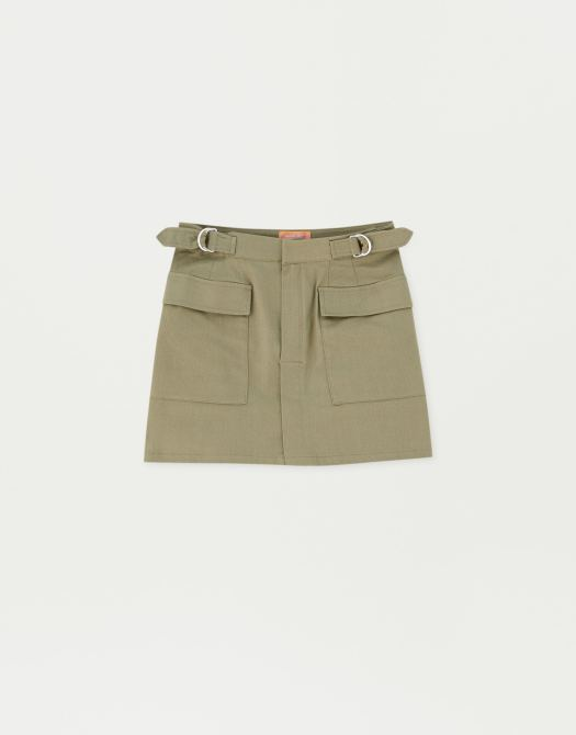 Sadie Sink Mini Skirt, $39.90