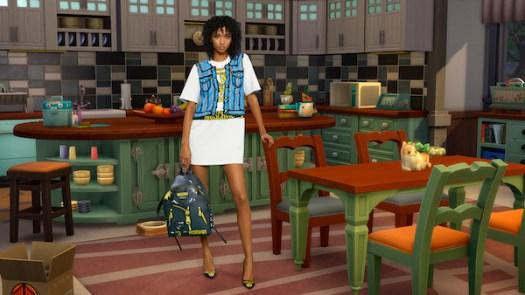 Pixel Capsule Cotton Dress (USD848)