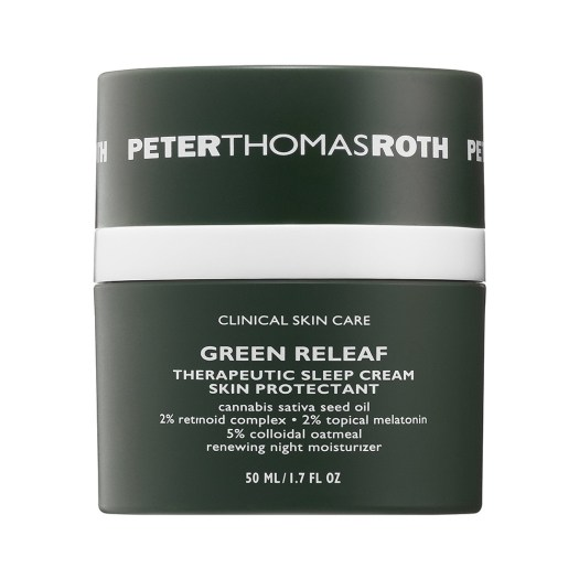 Peter Thomas Roth Green Releaf Therapeutic Sleep Cream, US$65: This brand is famous for their masks (there are so many on Sephora.sg!), and this one has cannabis sativa seed oil to calm skin irritation and redness, and provide relief (as its name implies). Don't expect to find it in Sephora Singapore.