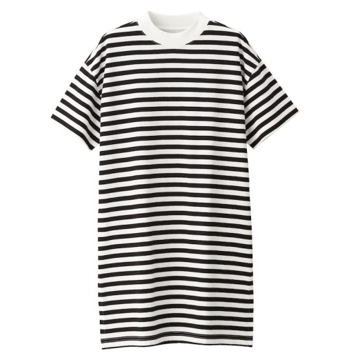 Ladies' Organic Cotton Low Count Short Sleeve Tunic. Less 10% U.P. $39