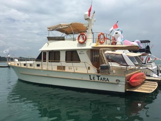 Photo Credit: Singapore Yacht Charter
