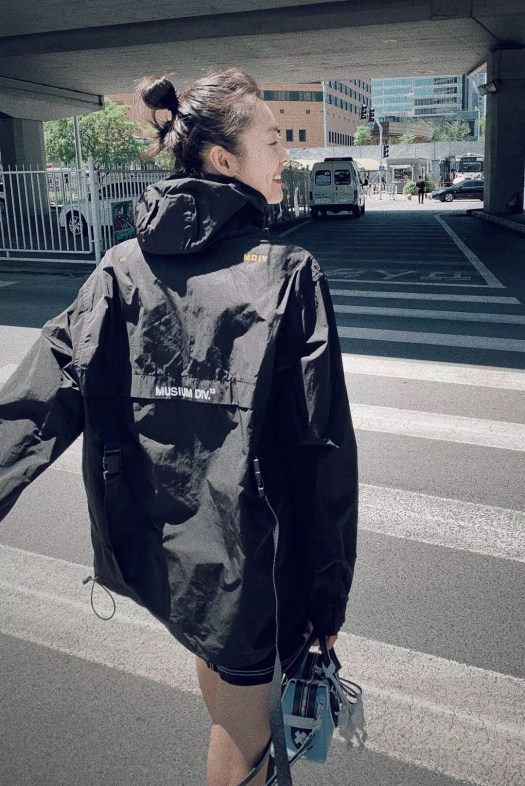 Chinese Supermodel Liu Wen with Tod's X Mr. Bags Unicorn D-Styling Bag