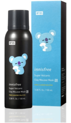Super Volcanic Clay Mousse Mask 2X in KOYA, $29