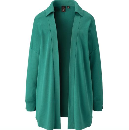 Hana Tajima Soft Touch Long-Sleeved Cardigan, $49.90