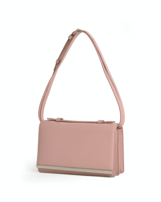 The Essential Mini Satchel in Pink, $249