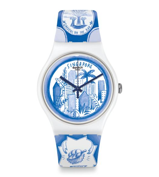 Singapore Tale by Swatch, $125