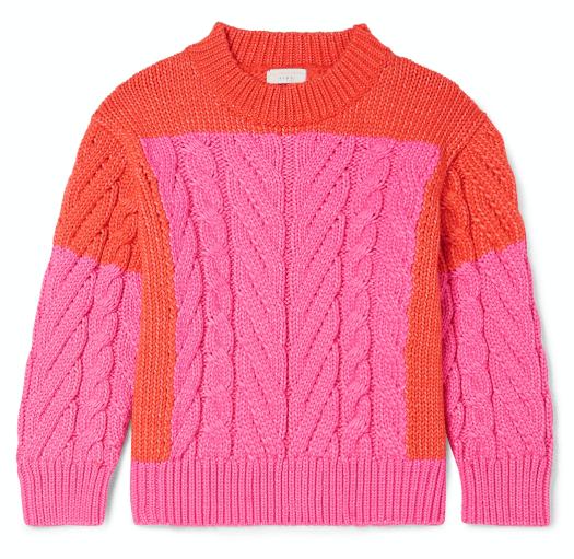 Cotton Blend Sweater, US$143