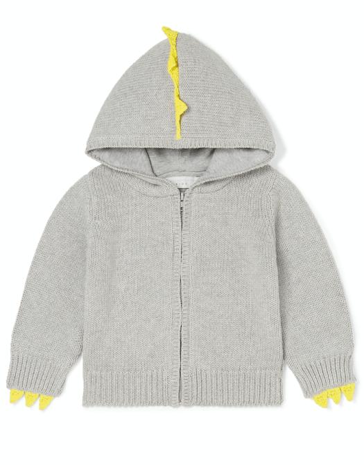 Spikes Cotton-Wool Cardigan, US$150
