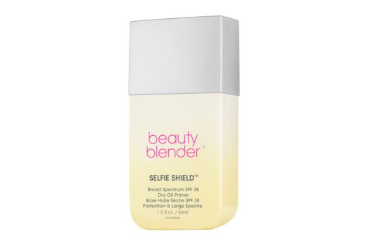 Beautyblender Selfie Shield Broad Spectrum SPF 38 Dry Oil Face Primer, $52. Available at Sephora