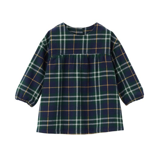 Flannel Overblouse (Baby), $33. Available in 6 colours.