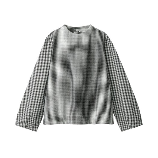 Xinjiang Cotton Flannel Blouse, $39. Available in 8 colours.