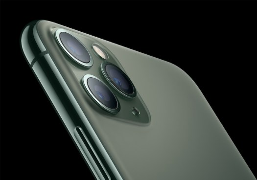 iPhone 11 Pro Triple Rear Cameras