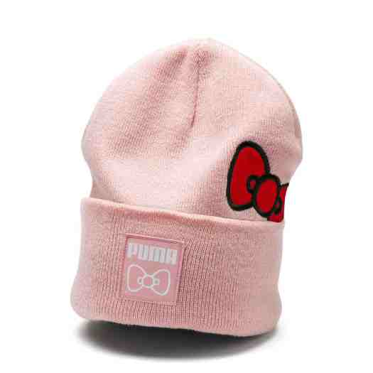 PUMA x HELLO KITTY Beanie in Silver Pink