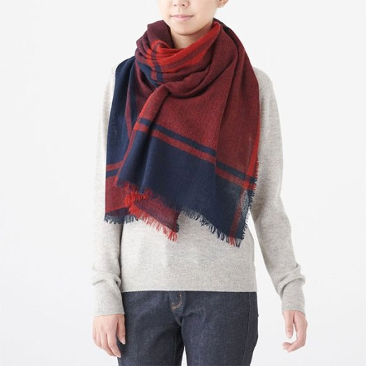 Cashmere Stole (Pattern). Available in assorted colours. Less 10% (U.P. $89)
