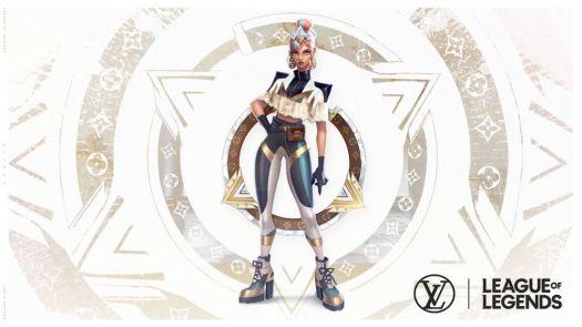 Louis Vuitton x League of Legends Qiyana Skin