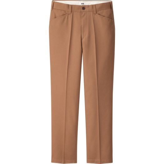 Wide Fit Straight Pants, $59.90