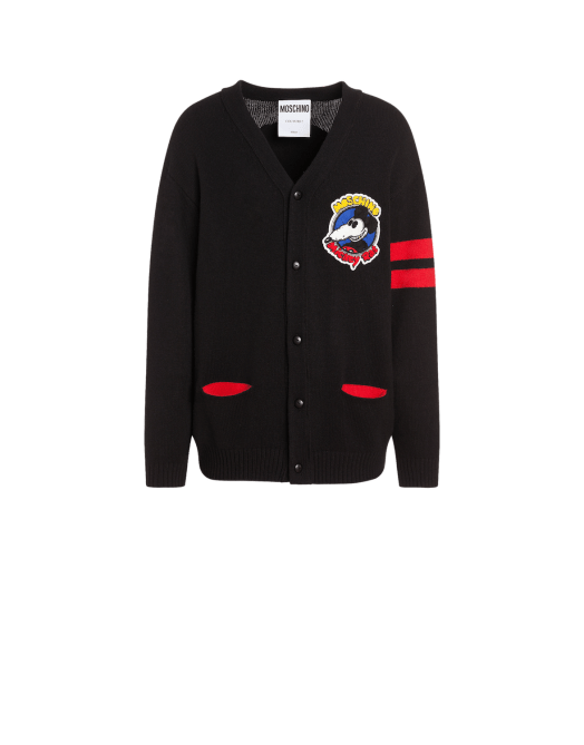Moschino Mickey Rat Cardigan $1,193