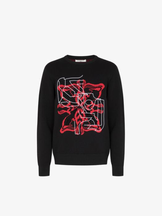 Givenchy Rat Sign Sweater $1,550