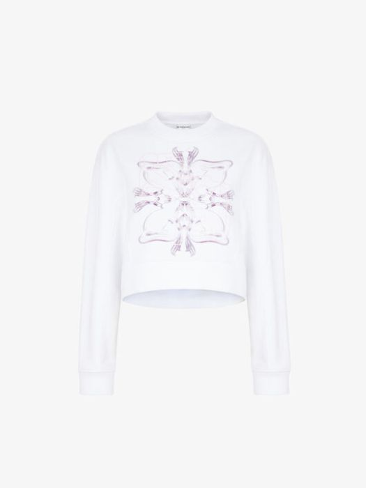 Givenchy Rat Sign Short Sweatshirt $1,550