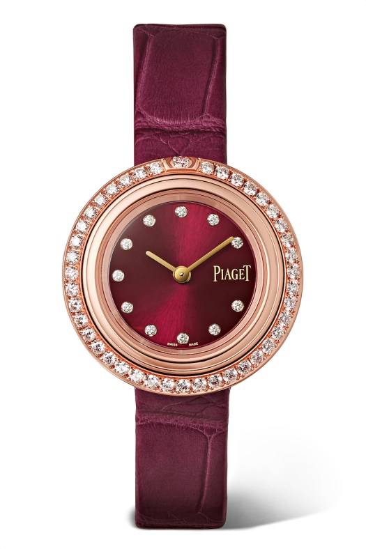 Piaget Possession 29mm 18-karat Rose Gold With Diamonds And Alligator Watch $21,184