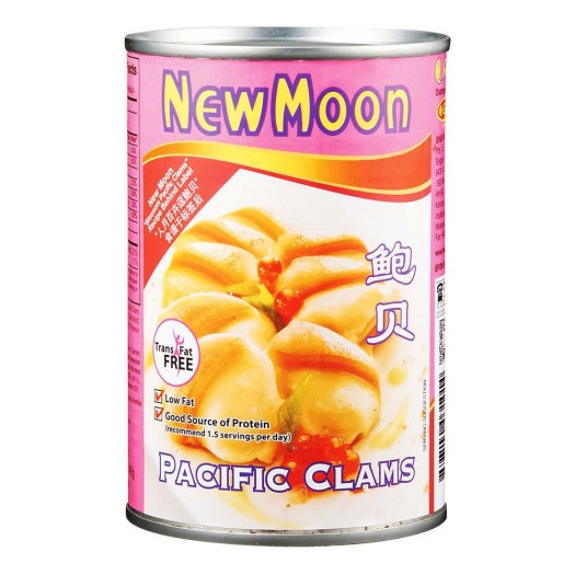 New Moon Pacific Clams, $9.90
