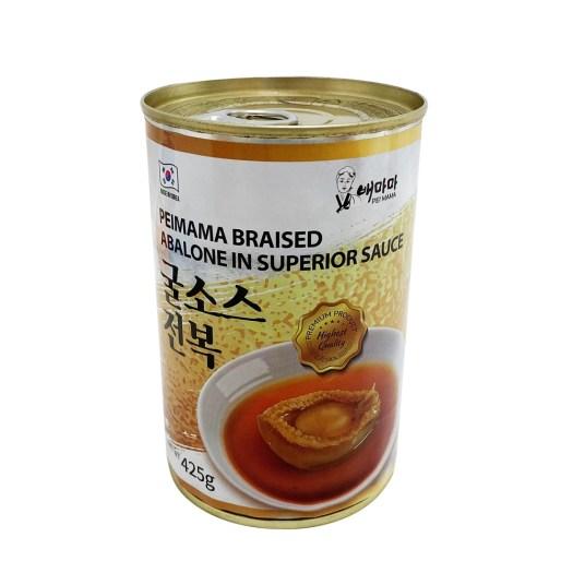 Peimama Korean Braised Abalone in Superior Sauce, $76
