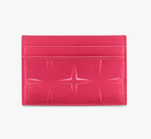 MCM Diamond Patent Card Holder in Teaberry $270