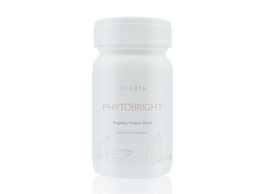 RE:ERTH Phytobright Oral Supplement, $105. Available online at reerth.com.