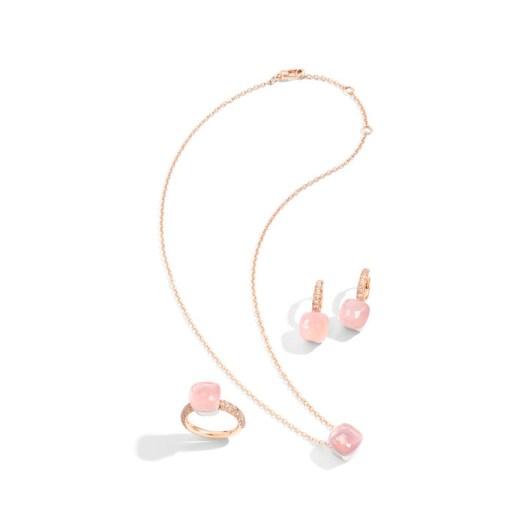 Pomellato Nudo Rose Quartz Collection