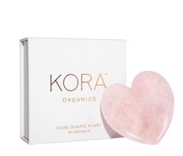 KORA Organics By Miranda Kerr Rose Quartz Heart Facial Sculptor $98