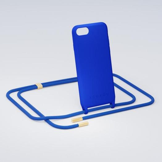 XOUXOU Modular Blue Phone Case Black with Blue Rope $123