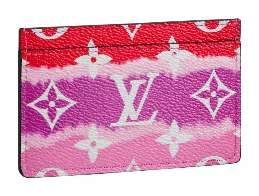 Card holder LV Escale in Monogram Giant canvas, $515