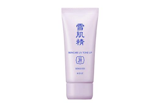 SEKKISEI Skincare UV Tone Up, $23. Available online at Lazada
