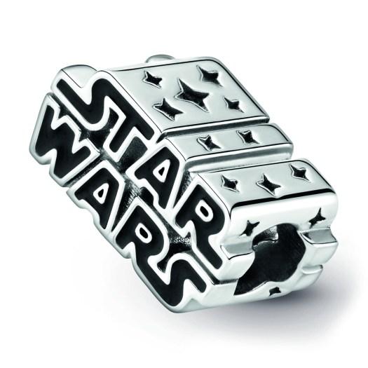 Star Wars x Pandora - Star Wars Silver 3D Logo Charm ($89)