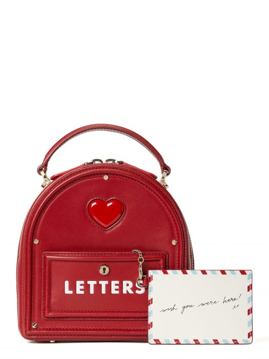yours truly 3d mailbox in red current, $580