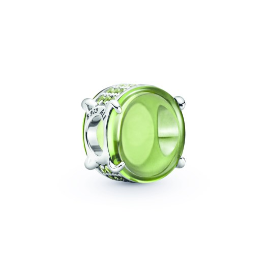 Green Oval Cabochon Charm ($129)