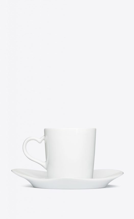 J.L COQUET COFFEE SET IN PORCELAIN, $830 for a set of 4