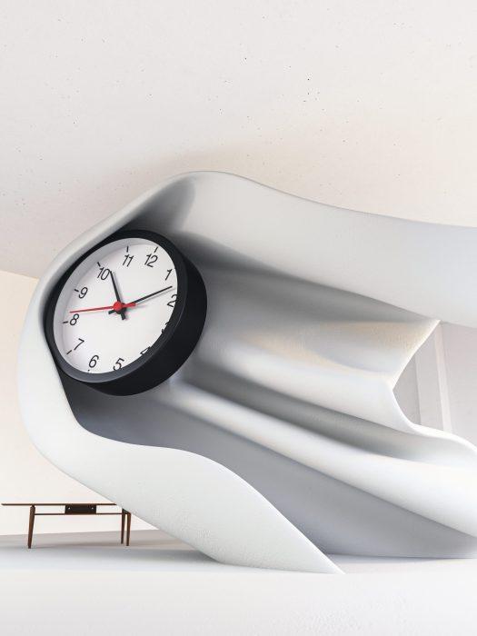 Clock — by Daniel Arsham