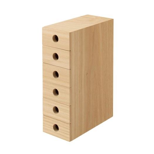 Wooden MDF 6 Drawers Storage, $59
